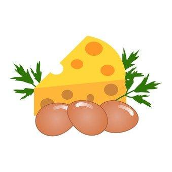 치즈와 달걀