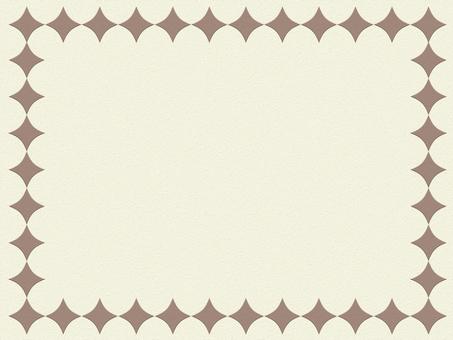 배경 간단한 Frame 갈색