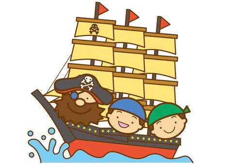 Pirate ship 4c