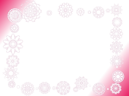 Flower pattern lace background