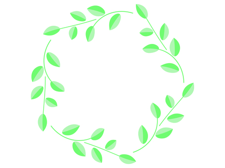 Plant round frame