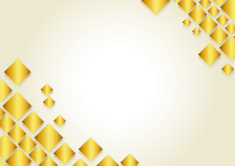 Square Back Gold Yellow