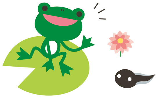 Greeting frog
