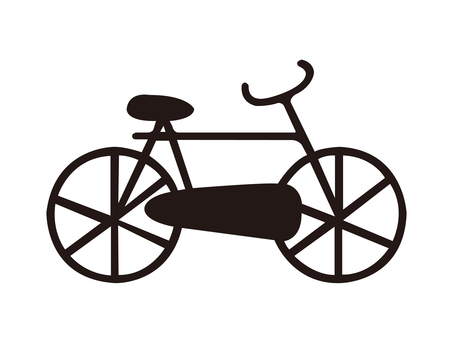 Silhouette _ bicycle