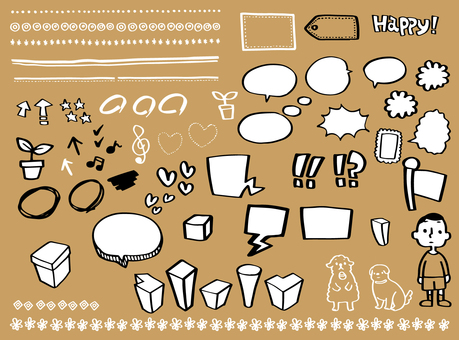 Various materials