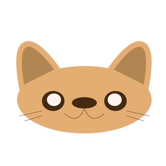 貓(微笑)