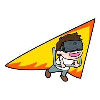 VR goggles / men