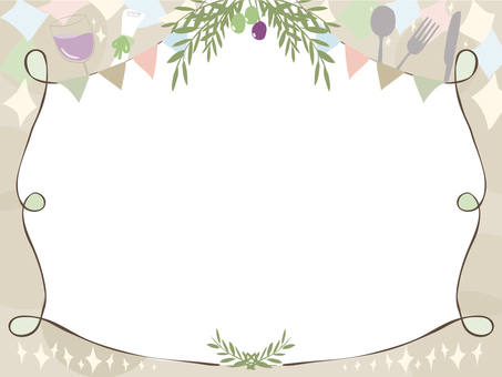 Olive message card (no character)
