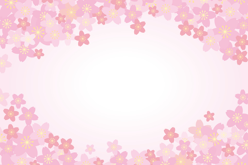 Sky and cherry blossoms 02