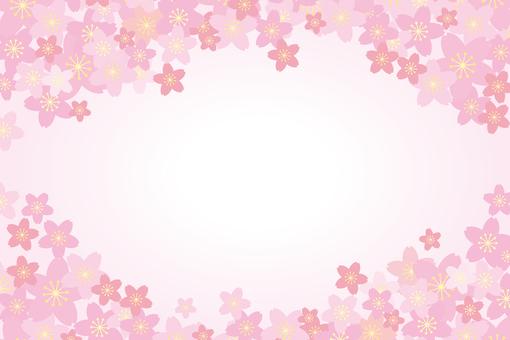하늘과 벚꽃 02
