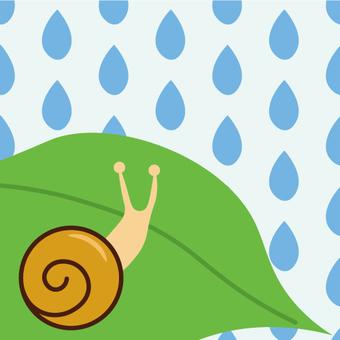 장마의 이미지 (달팽이)