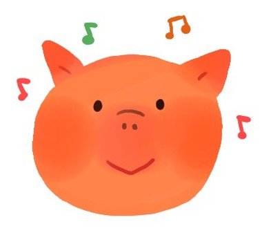 Pigs and music