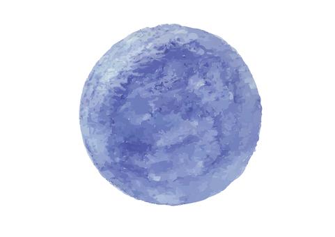 Watercolor ball ⭐️ 紫