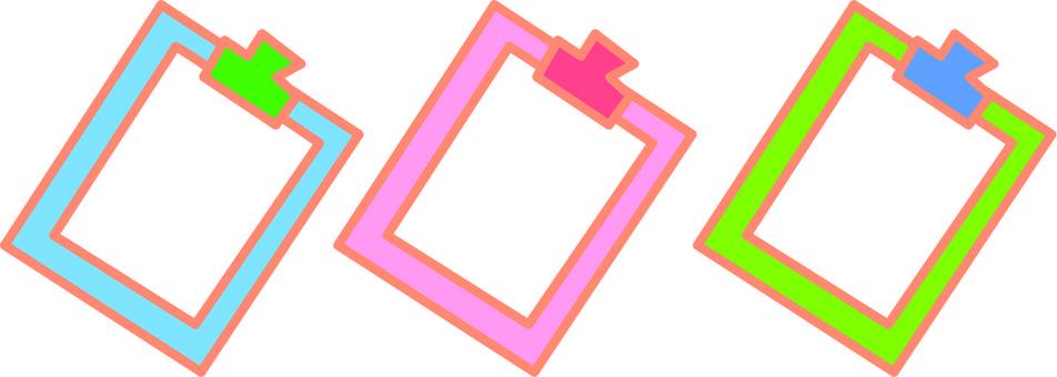 3 color binder