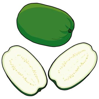 Crown / Winter melon / Winter melon