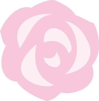 Simple rose pink