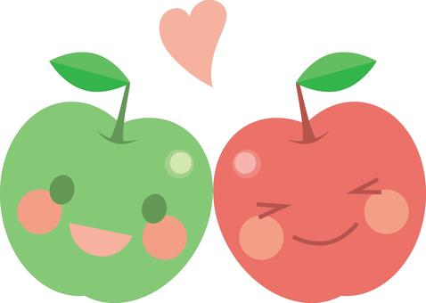 단짝 사과 짱