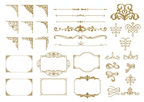 Elegant Frame Set 008