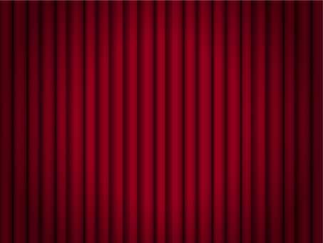 Curtain red