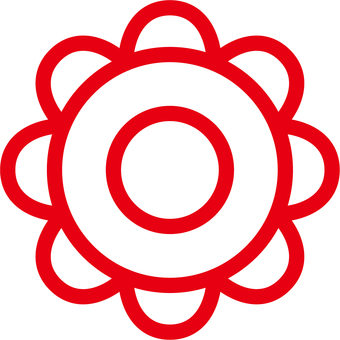 Hanamaru _ 03 _ True Circle _ Red