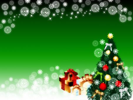 크리스마스 트리 _green
