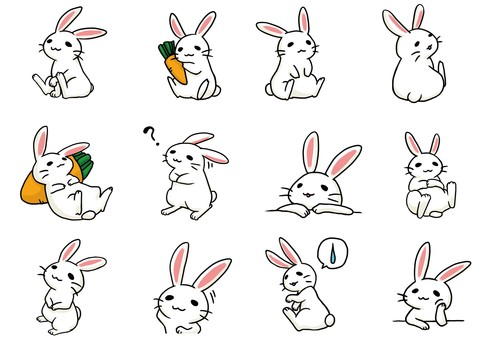 Assorted rabbit 3 (modified)