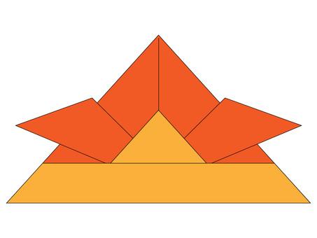 Origami headprint