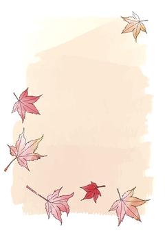 단풍 나무 카드