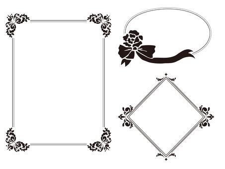 Frame 3 point set 2 (black and white)