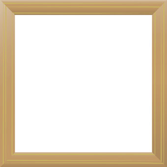 Wooden frame (square)