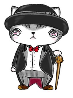 绅士的猫♪