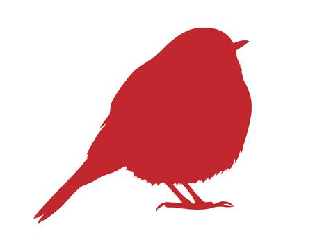 Bird's silhouette