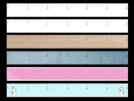 6 rulers