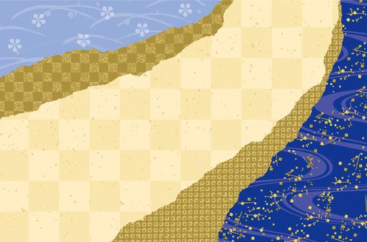 Japanese paper texture summer
