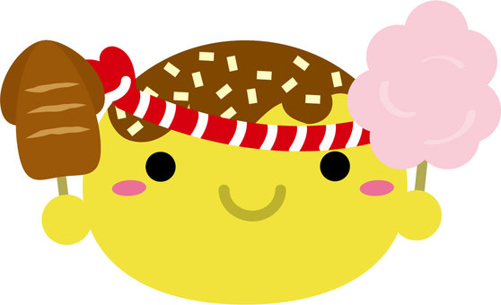 Takoyaki's cute character