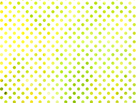 Water color dot green