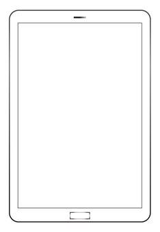 白屏平板電腦終端