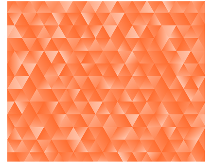 Geometric pattern of oranges