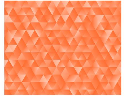 橘子的几何图案