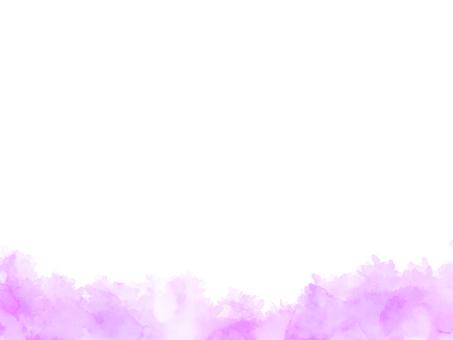 Watercolor texture frame 1 purple