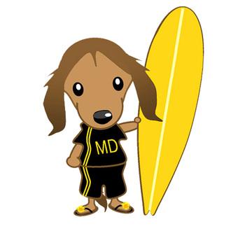 Miniature Dax's Surfer