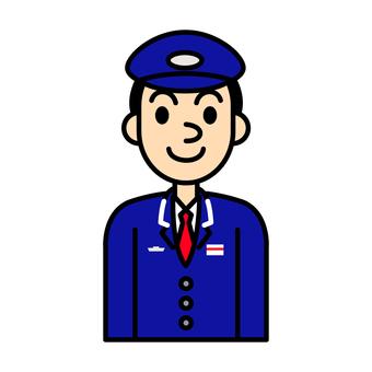 Station staff illustration 2