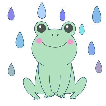 Frogs and rain