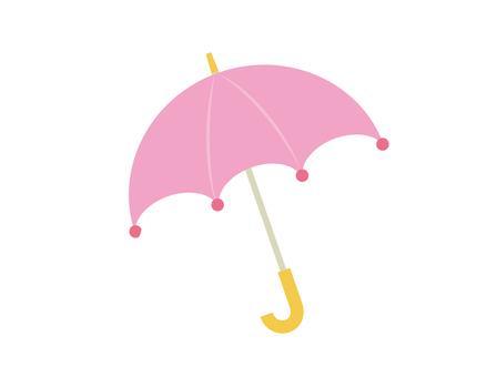 傘_ピンク