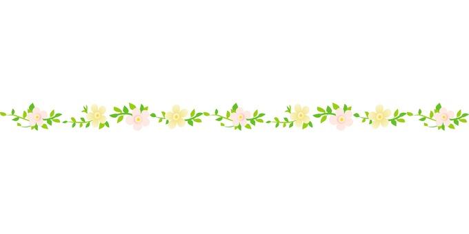 Flower material line