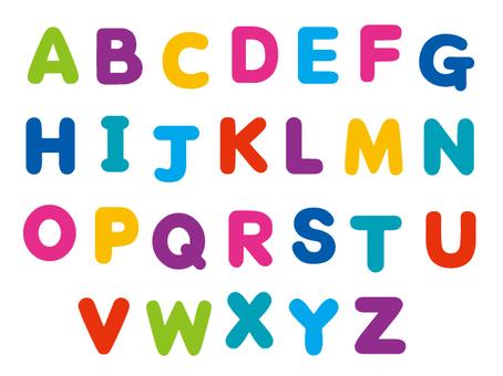 カラフルアルファベット2