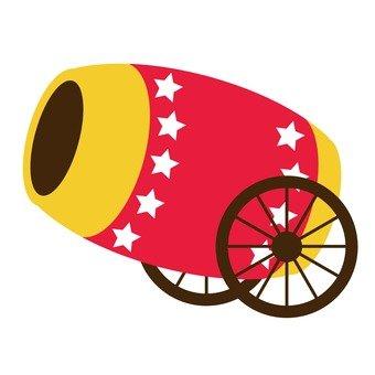 Circus cannon 1