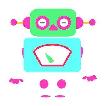 Midori's face robot