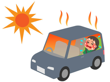 Children left in the car