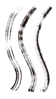 Brush silhouette 2
